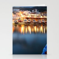 Colorful Harbour Stationery Cards