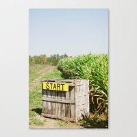 Start Box Canvas Print