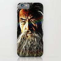 iPhone & iPod Case featuring Gandalf by D77 The DigArtisT
