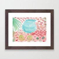 The Bowl Framed Art Print