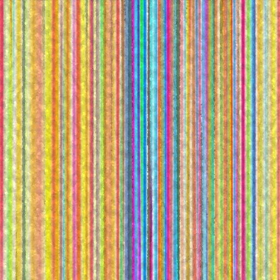Party Stripes Art Print
