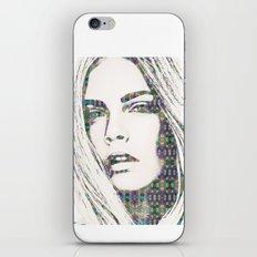 Cara Delevigne iPhone & iPod Skin