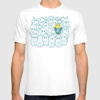 Shining In Shadows Mens Fitted Tee White SMALL