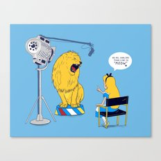 Directing Canvas Print