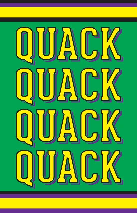 Quack Attack Art Print