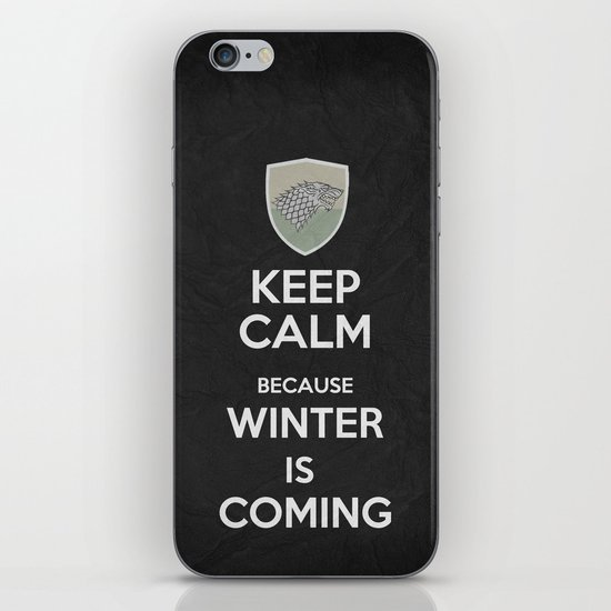 Keep Calm - Game Poster 02 iPhone & iPod Skin