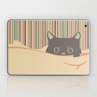Kitty in the blanket Laptop & iPad Skin