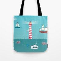 Beside The Seaside Tote Bag