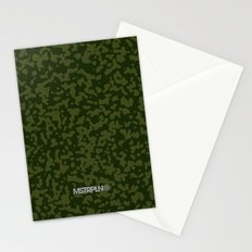 Comp Camouflage / Green Stationery Cards