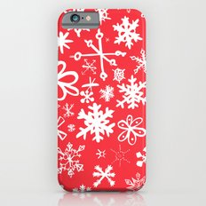 Snowflakes iPhone 6 Slim Case