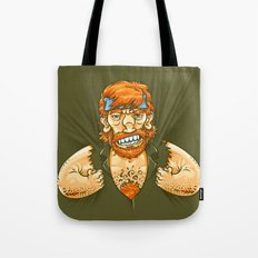 Who wears whom? Tote Bag