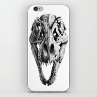 T-Rex Skull iPhone & iPod Skin