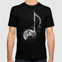 Melodie De La Lune Mens Fitted Tee Black SMALL