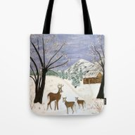 Tote Bag featuring Winter Is Here  by Maggs326