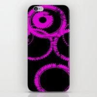 Pink Gears iPhone & iPod Skin