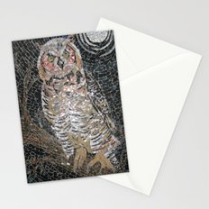 Owl Mosaic Stationery Cards