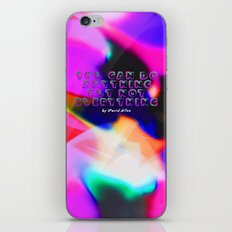 You Can Do Anything but Not Everything iPhone & iPod Skin