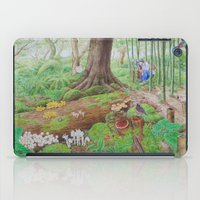 A Day Of Forest (4). (th… iPad Case
