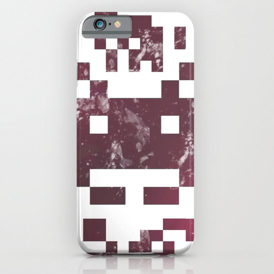 QR invader iPhone & iPod Case