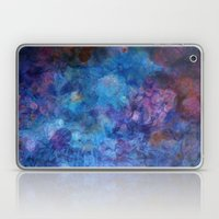Blue Grotto Abstract Pai… Laptop & iPad Skin