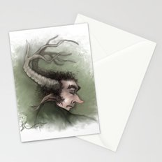 Fairy with Antlers Stationery Cards