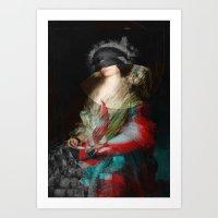 Senora Ceán Bermudez 1 Art Print