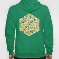 Daffodil Daze - Yellow &… Hoody