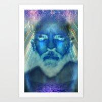 I AM ONE Art Print