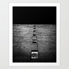 Above and Below at No 369 Pape Ave Toronto Canada Art Print