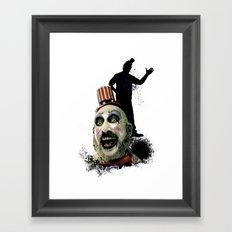 Captain Spaulding: Monster Madness Series Framed Art Print