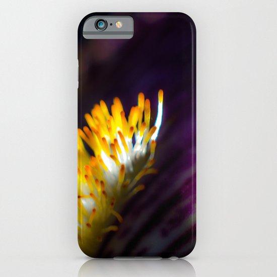 Iris in purple iPhone & iPod Case
