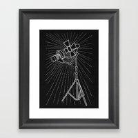 Photograph Lighting Framed Art Print