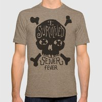 Seiver Fever Mens Fitted Tee Tri-Coffee SMALL