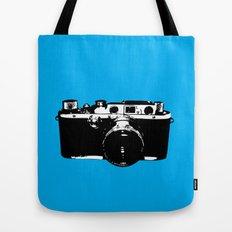 Leica in Blue Tote Bag