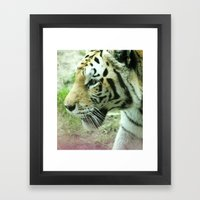 Stalk Framed Art Print