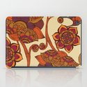 Boho Flowers iPad Case