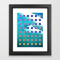 SURF SAFARI Framed Art Print