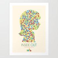 Inside Out Minimal Poste… Art Print