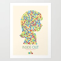 Inside Out Minimal Poste… Art Print