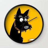 Scottie Wall Clock