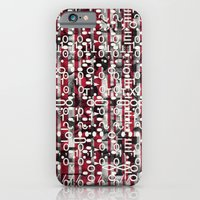 Linear Thinking Trip-Switch (P/D3 Glitch Collage Studies) iPhone 6 Slim Case