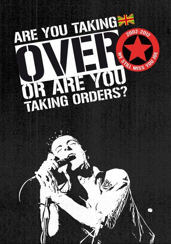 Joe Strummer tribute poster two. 2002-2012 We still miss you Joe.  Art Print