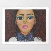 Nubina Art Print