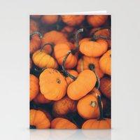Obligatory Pumpkin Selfi… Stationery Cards