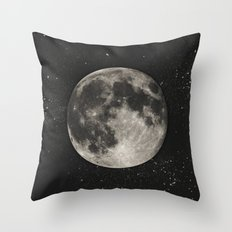 The Moon  [Sans Type] Throw Pillow