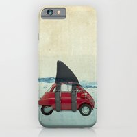iPhone & iPod Case featuring isetta shark by vin zzep