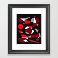 Abstract #107 Framed Art Print
