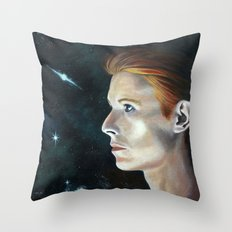 The Man Who Fell Throw Pillow