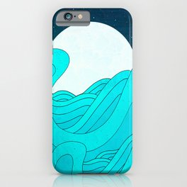 iPhone & iPod Case - The Moon and the Sea -  Steve Wade ( Swade)