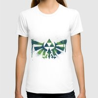 zelda T-shirts featuring Zelda by Bradley Bailey